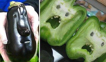 25 vegetales que sufren una crisis de identidad