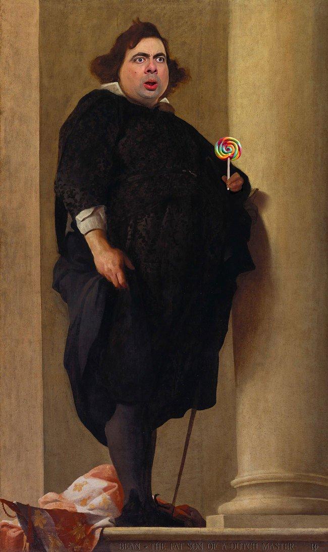retratos-historicos-mr-bean11