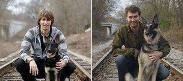 22 Hermosas fotografías antes y después de animales creciendo