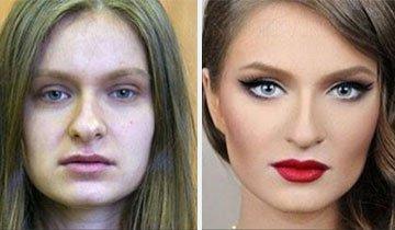 20 Ejemplos que nos muestran el poder del maquillaje en las mujeres