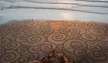 Algo ocurre en las playas de San Francisco cuando hay marea baja, ¡Impresionante!