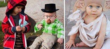 32 Disfraces de Halloween para bebé que son tan ingeniosos, como ellos adorables