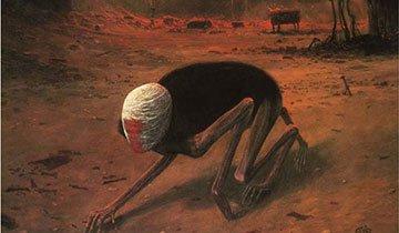 La torturada vida de este hombre reflejada en sus pinturas. Espeluznante, como su historia