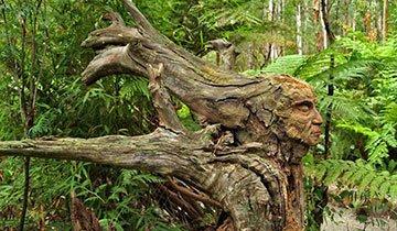 esculturas jardín