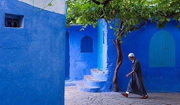 Descubre la ciudad más azul de Marruecos. Chefchaouen es precioso