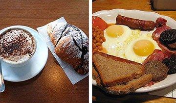 Todos desayunamos, pero ¿cómo sería tu desayuno si vivieras en uno de estos países?