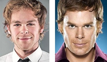 Un momento. ¿Estos famosos tienen gemelos? ¡Madre mía, son iguales!