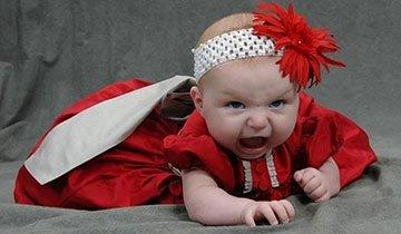 25 Fotografías de bebés que no quedaron tan bien como se esperaban