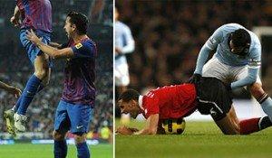 Fútbol deporte cariñoso
