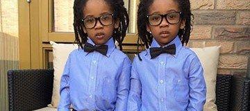 Estos adorables hermanos gemelos son el estilo y la moda en persona. Tienes que verlos