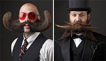 Los ganadores del Campeonato Mundial de Barbas y Bigotes no te dejarán indiferente.