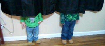 17 Niños a los que no se les da muy bien el juego del escondite ¡Son Geniales!