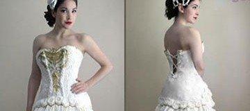 ¿El vestido de novia más barato e higiénico que has visto nunca? ¿higiénico?