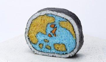 25 Raciones de Sushi tan creativas y artísticas que no osarás comértelas. ¿O, si?