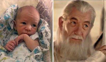 16 Bebés tan iguales a los famosos que parecen celebridades renacidas.