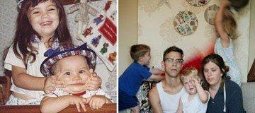 15 Fotografías de familia que pasaron de las apariencias e hicieron fotos honestas.