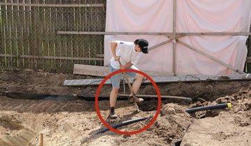 Este hombre tuvo una idea loca para su patio. Ahora veo que es un auténtico genio.