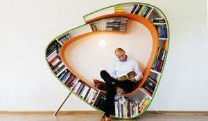 Muebles y estanterías creativas