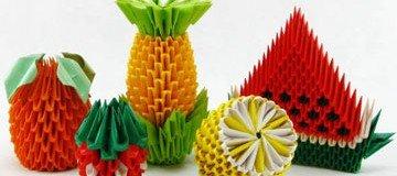 El arte de la papiroflexia llevado a un nivel superior. Esto es Origami 3D.