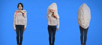 Estudiante de diseño crea una 'cáscara de nuez' para relajarte del mundo que te rodea.