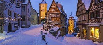 Los 30 pueblos más pintorescos de alrededor del mundo donde disfrutar del invierno.