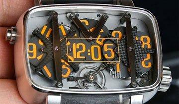 Estos curiosos y exclusivos relojes harán que te olvides del iWatch. Impresionantes.