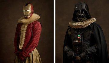 ¿Cómo serían los Superhéroes en pleno siglo XVI? Estos son los Superhéroes Renacentistas.