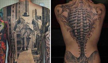 15 Tatuajes 3D cuyas ilusiones ópticas le darán la vuelta a tu cerebro. Increíble.