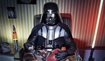 El álbum de fotos secreto que Darth Vader nunca dejaría que vieras. Oh no.