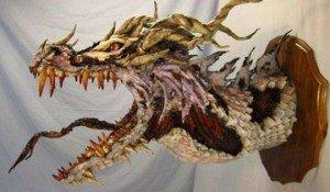 esculturas de papel mache