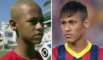 Así es como han cambiado algunos de los futbolistas más famosos de la actualidad.