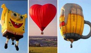 globos aerostáticos creativos
