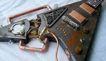 30 Exclusivas guitarras eléctricas que te dejarán con la boca abierta.