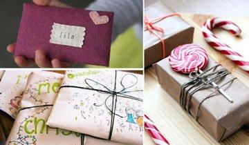 16 Ideas para envolver regalos de Navidad. Gustarán tanto que no querrán abrir los regalos.