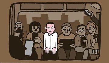 10 Ilustraciones que nos demuestran como de triste puede ser nuestra vida moderna.