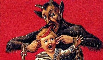 ¿Conoces a Krampus, el diablo de Papá Noel? Espero que hayas sido bueno, de verdad.
