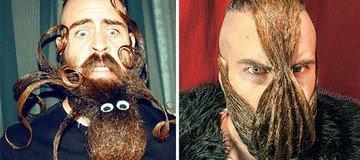 Te presentamos a Mr. Incredibeard y sus increíbles barbas. Alucinarás.