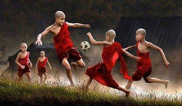 30 Mágicas fotografías de niños de alrededor del mundo jugando y disfrutando.