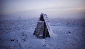 Descubre Oymyakon, el pueblo más frío del mundo. Te quedarás helado sólo de verlo.