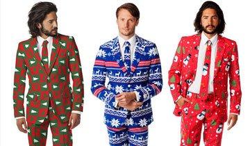 Olvida el feo jersey navideño. La nueva tendencia son estos trajes y vestidos de Navidad.