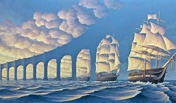 Las ilusiones ópticas que crea este artista le darán la vuelta a tu cerebro. Geniales.