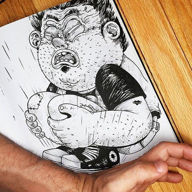 lucha-ilustraciones-solis10