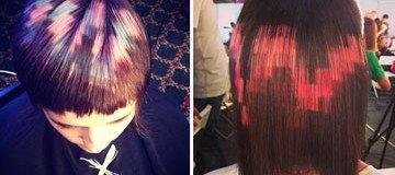 Pelo Pixelado: La nueva y sorprendente tendencia creada por un estudio de peluquería.
