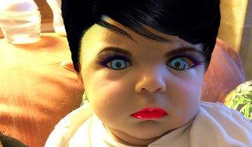 Lo que le hizo a su hija recién nacida te hará repensar el concepto de maquillaje para siempre.