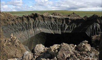 Cada vez se forman cráteres más grandes en Rusia y los científicos aún no saben por qué.