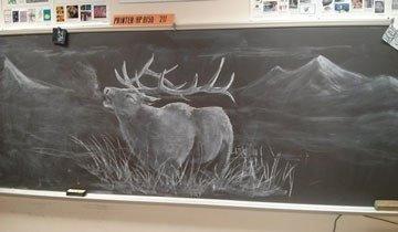 Cada día, estos estudiantes quedan impresionados con lo que les espera en su aula.