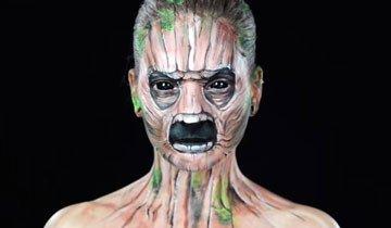 Quedarás alucinando cuando veas como esta artista puede transformar su cara.