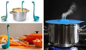 20 Gadgets de cocina tan originales y divertidos que harán cocinar al más vago.