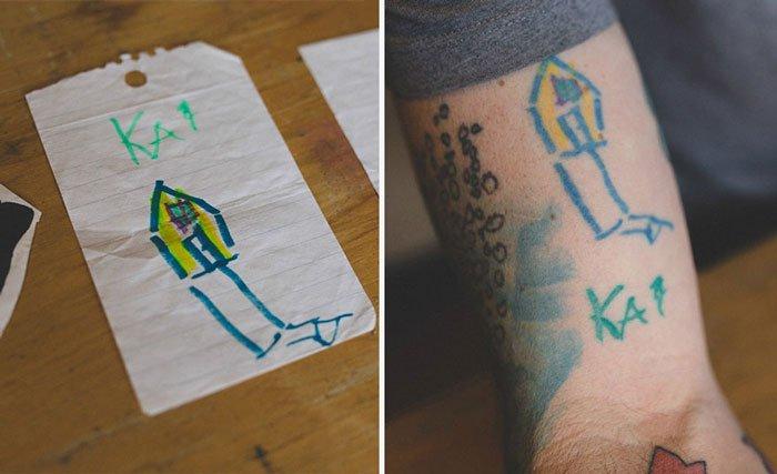padre-tatuajes-dibujos-hijo8