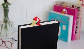 15 Puntos de libro divertidos y creativos que enamorarán a cualquier lector.